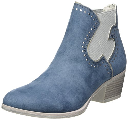 Blue Boots Comb WoMen Denim Chelsea Tozzi 25054 Marco wq8HxXBAX