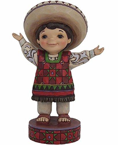Jim Shore Disney Traditions It's A Small World Sonata Mexico Figurine