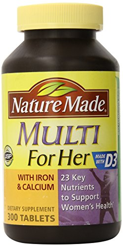 Nature Made Multi for Her – 300 Tablets Review
