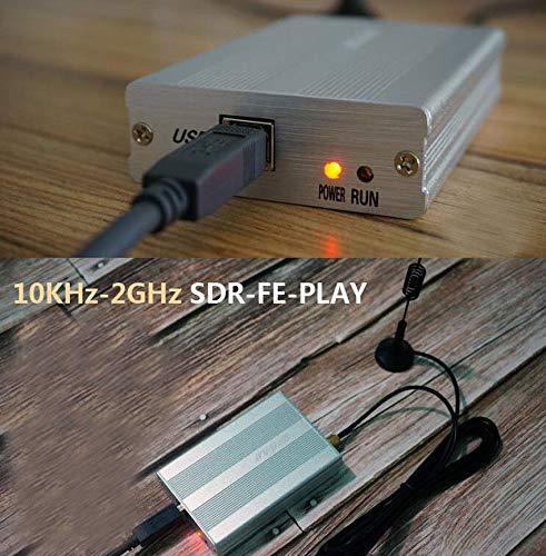 FidgetKute 10KHz-2GHz Full Featured 12bit SDR Receiver SDRPLAY RSP1 RSP2  RTL-SDR HackRF