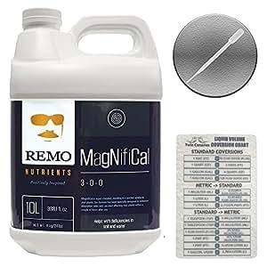 Remo nutrientes magnifical + 2Canarias tabla de digitación y pipeta–10Liter