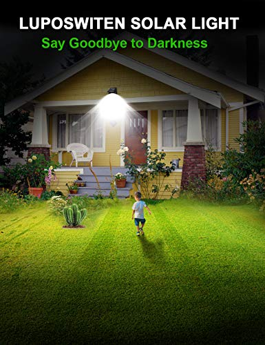 Top 10 Best Motion Activated Solar LED Lights Reviews 2019-2020 cover image