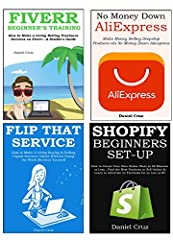 Who Else Wants a New Income Source Outside a Day Job?In this 4 in 1 ENTREPLOYEE bundle, you'll discover:FIVERR BEGINNER* The 4 step process to make money on Fiverr * The best services to sell on Fiverr right now * How to write your listing st...
