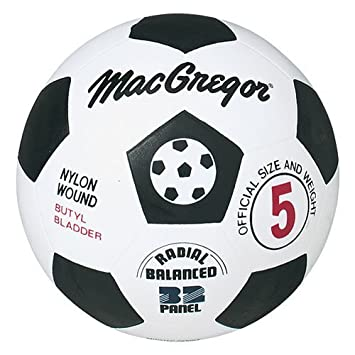 What is the official soccer ball size?