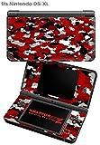Nintendo DSi XL Skin WraptorCamo Digital Red