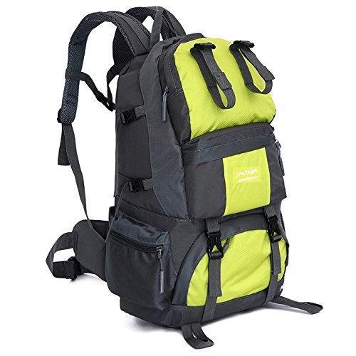 Waterproof Nylon Travel Mountaineering Leisure Hiking Bag Green - 5