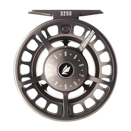 Sage: 3280 Reel, 7-8 wt, Black/Platinum (Sage Fly Fishing Reels)