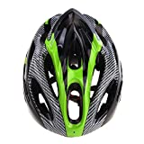 EverTrust(TM)2014 New 21 Vents Ultralight EPS & PC Sports Cycling Helmet with Lining Pad Mountain Road Bike Bicycle Helmets Adult, Green