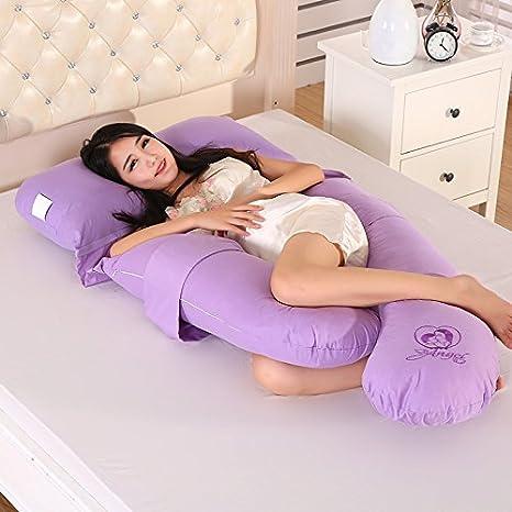 Amazon.com: Las mujeres embarazadas Cinturón Tipo U Almohada ...