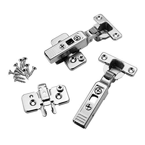 - Mini Blum Full Overlay 26mm 90 deg. Clip-On Hinges, Pair