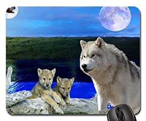 Mother and Cups Mouse Pad, Mousepad