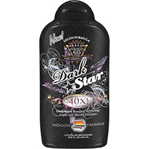 European Gold Dark Star 40X Dark Tanning Lotion, 13.5 fl oz