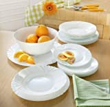 Luminarc 21.5 cm 6-Piece Cadix Soup Glass Plate