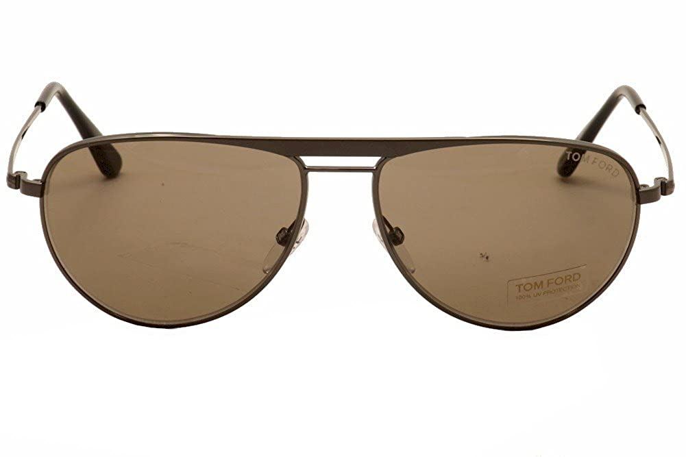 b2c721e72457 Amazon.com: Tom Ford Sunglasses - William / Frame: Gunmetal Lens: Brown:  Clothing