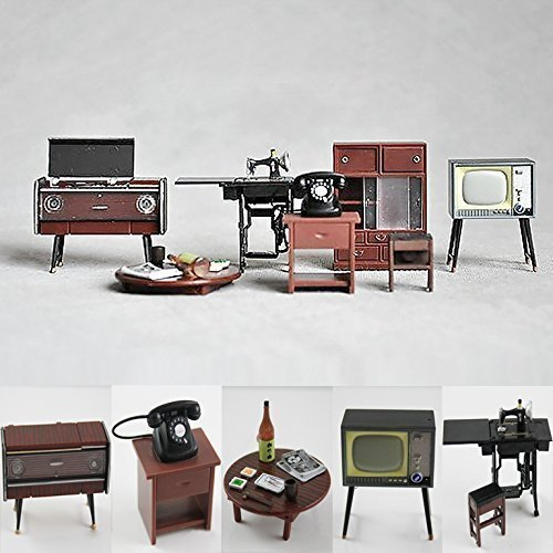 124-vintage-japanese-furniture-dollhouse-miniature-accessories-featuring-record-player-cupboard-tabl