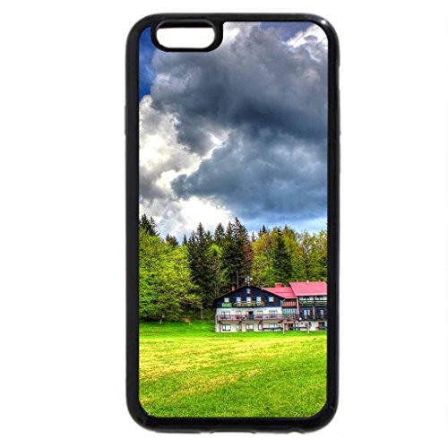 iPhone 6S / iPhone 6 Case (Black) beautiful country view