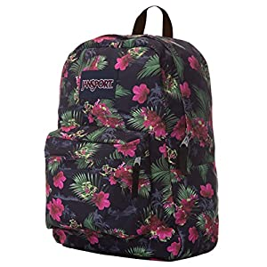 JANSPORT Hot Tropic SuperBreak Backpack, Multi Hot Tropic