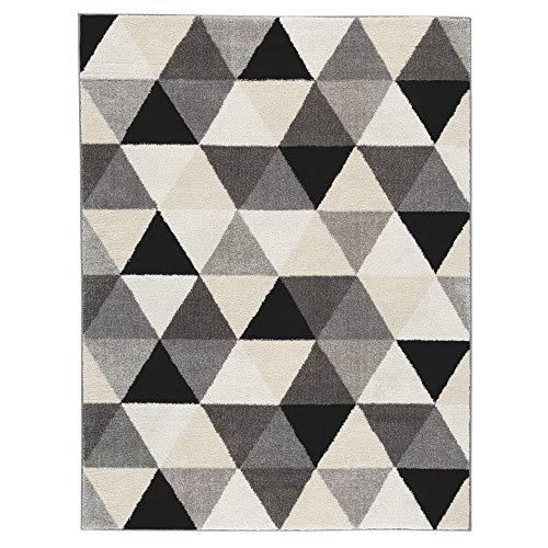 (Ashley Furniture Signature Design - Jamaun Large Rug -  Cream/Black)