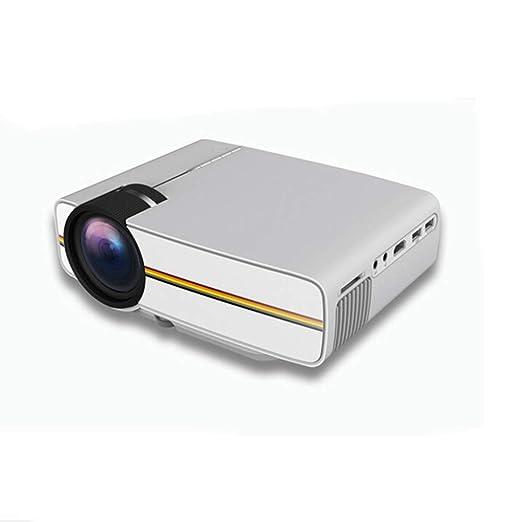 KAIDILA Proyector, YG400 hasta yg400a Mini proyector con conexión ...