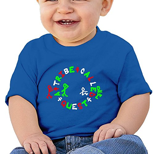HZERUI Infants &Toddlers Baby's A Tribe Called Quest Logo T-Shirt RoyalBlue 24 Months For 6-24 Months.