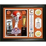 "NCAA Clemson Tigers Highland 2016 Football National Champions ""Banner"" Bronze Coin Photo Mint, Black"