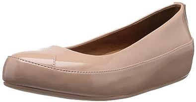 68ab7b09fe8d FitFlop Women s Due Patent Ballet Flat