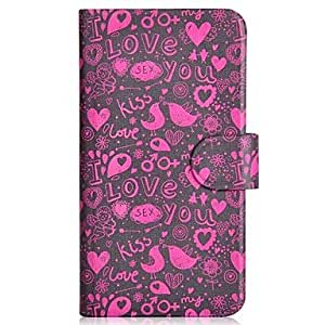 SHOUJIKE Novelty Pattern PU Mobile Phone Holster With Card Slot for Samsung S3/i9300