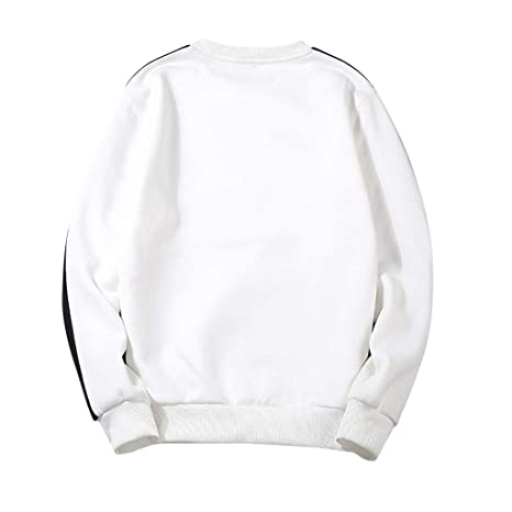 Amazon.com: Mens Crewneck Sweatshirt, Mans New Style Long ...