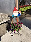 Gnome Folding Metal Plant Stand