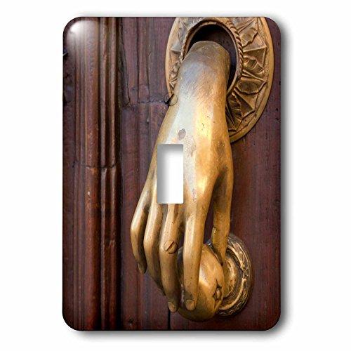 3dRose lsp_188396_1 Mexico, San Miguel De Allende. Detail of A Door and Door Knocker. Single Toggle (Hand Door Knocker)
