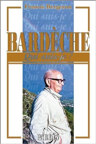 """""""Qui suis-je?"""" Bardèche"""