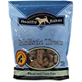 "Healthy Baker Holistic Dog Treats  -  Wholesome and Delicious Treats for Dogs - Peanut, 2"", 2 lbs."