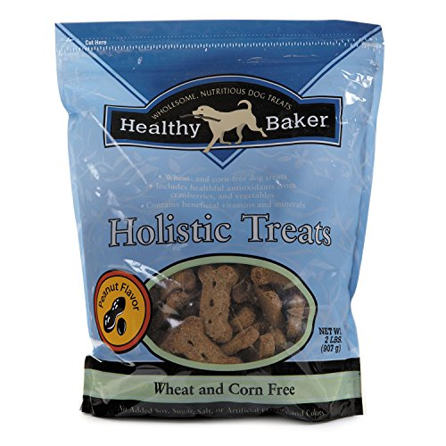 Healthy Baker Holistic Dog Treats - Wholesome And Delicious Treats For Dogs - Peanut, 2