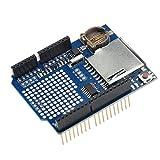 PIXNOR Data Logger Module Recorder Logging Shield for Arduino UNO SD Card