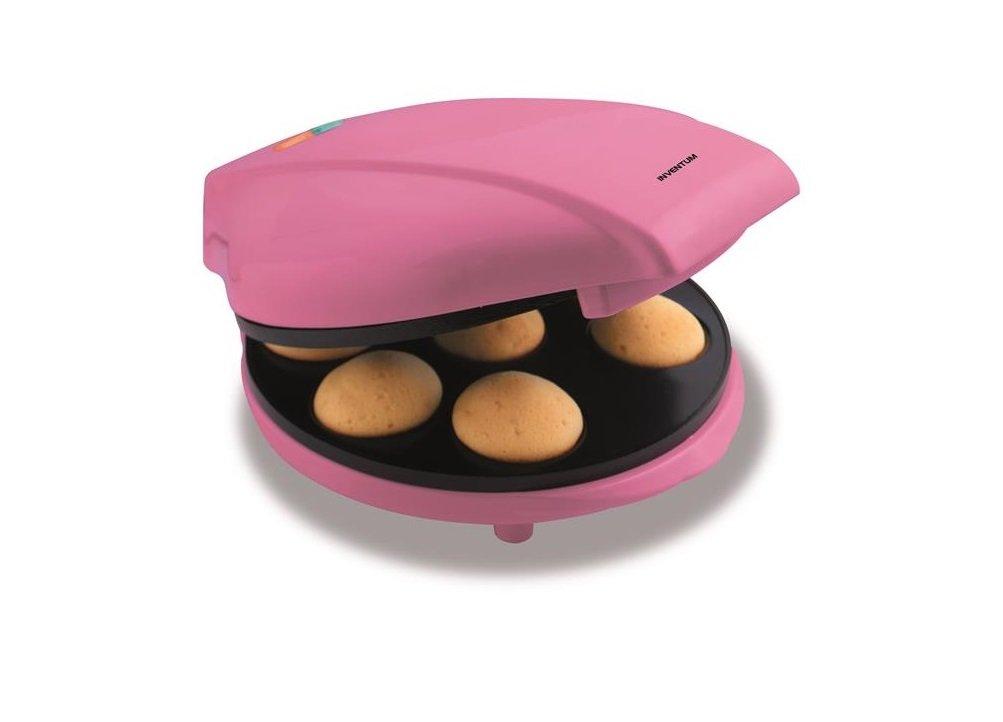 0.760 Watt Pink Sweet Treats Cupcake Maker