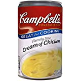 Campbell's Condensed Soup, Cream of Chicken, Family Size, 22.6 Ounce