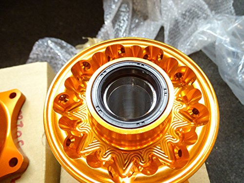 TCR Front & Rear Set Wheel Hubs KTM Orange 125 250 300 350 450 525 SX SXF 07-16 by TCR (Image #4)