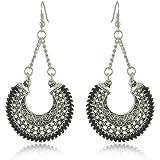 37-3 # 1 Pair Women Elegant Alloy Crystal Rhinestone Ear Stud Fashion Lady Earrings