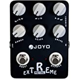 JOYO JF-17 Extreme Metal Pedal Effect Distortion Pedal with 3-Band EQ and Low & High-gain Pedal for Electric Guitar True Bypass