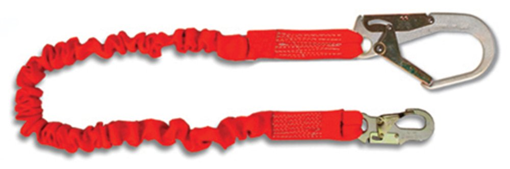 Guardian Fall Protection 01297 4.5 to 6-Foot Single Leg with Rebar Hook End