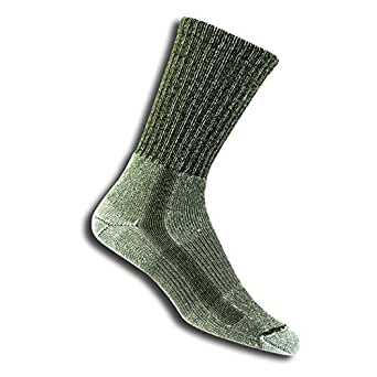 Thorlo Men's Coolmax Lt Hiker Crew Sock (Men's 9-12.5, Sage)