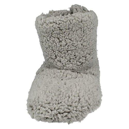 Fluffy X2045 Pantoufles Femme Gris Eaze Bootee vqqEIg