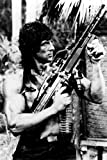 Sylvester Stallone 24x36 Poster with machine gun as Rambo