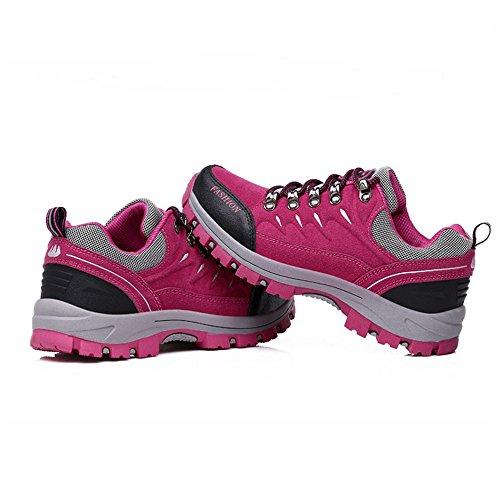 FZUU Hiking Shoes Breathable Couple Shoes Sneaker Autumn Climbing Trekking Outdoor for Men Women