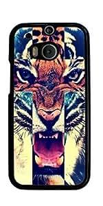 Tiger Roar Cross Hard Case for HTC ONE M8 ( Sugar Skull )