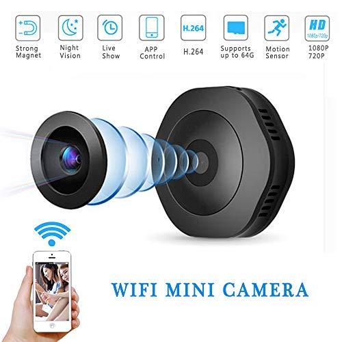 YAMEIJIA Mini Cámara De Deportes DV, Portable Magnética Cámara De Mano Que Usa Al Aire Libre HD Wifi Cámara 1080P...
