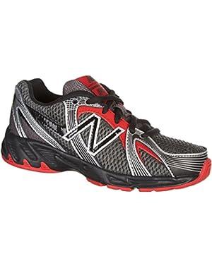550 Boys' Running Shoes (Grey/Black/Red)