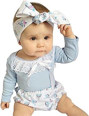 feiXIANG Conjunto de Ropa para bebés recién Nacidos Camiseta de ...