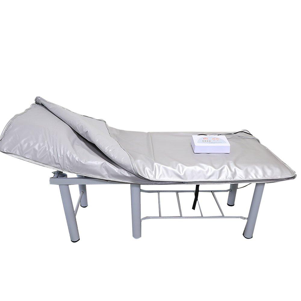 Vogvigo Far Infrared Sauna Blanket Body Shaper Weight Loss Sauna Slimming Blanket Detox Therapy Machine for Personal Spa