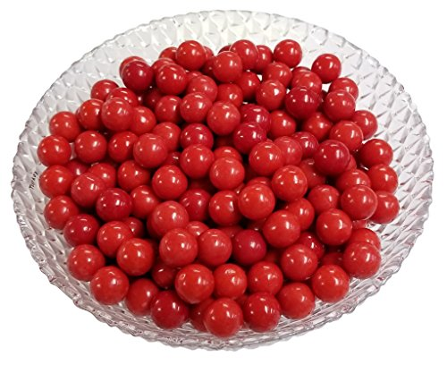 Gumballs Red Bubble Gum 2 Pounds 0.5 inch Mini -